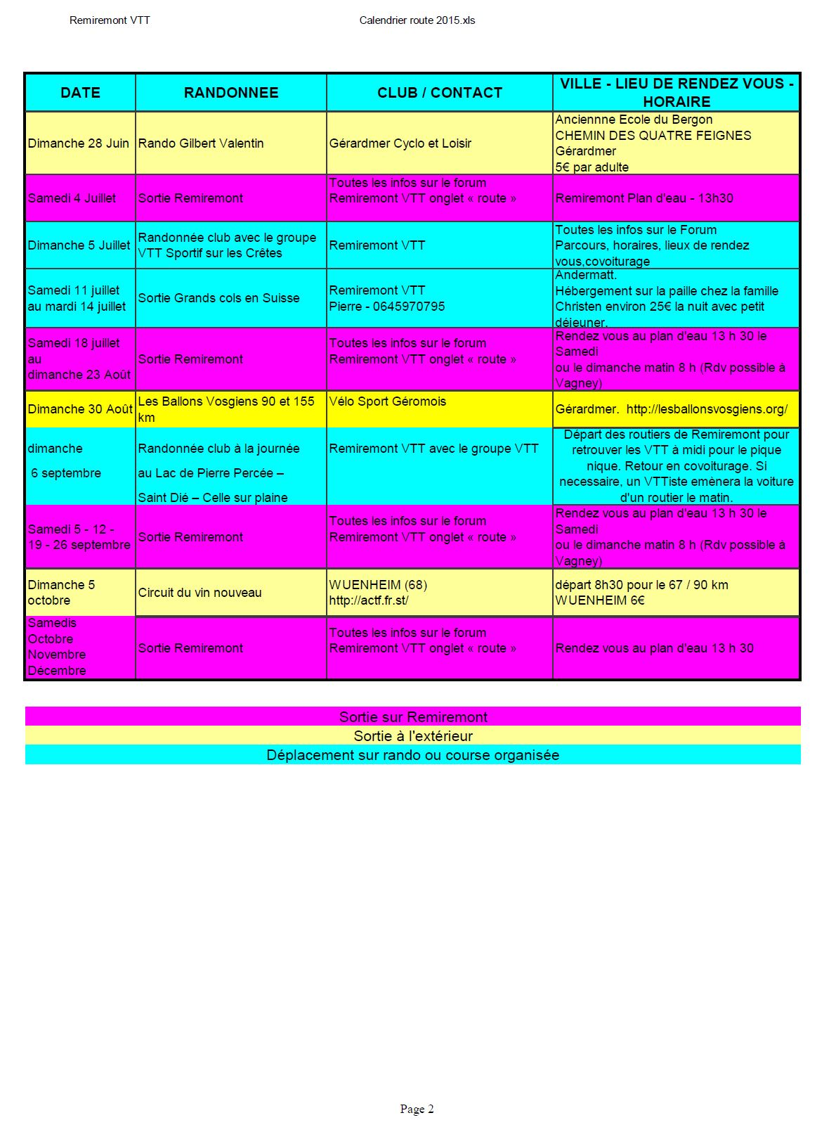 Calendrier route 2015 page2
